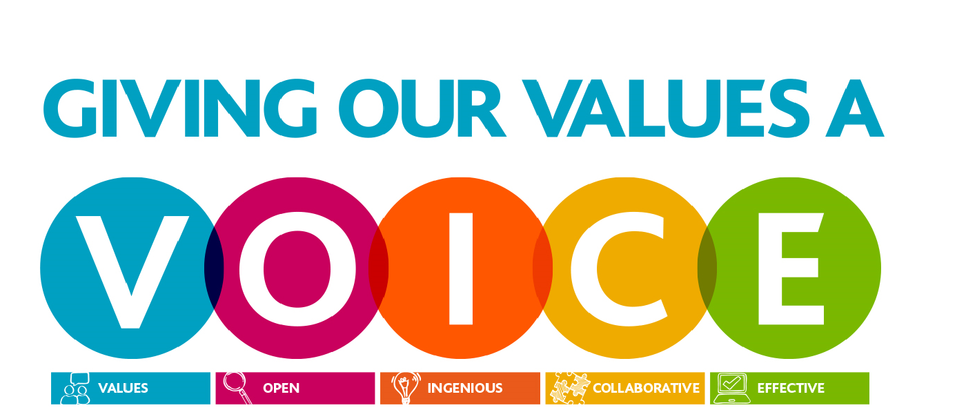Giving our values a voice