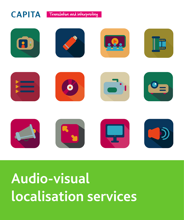 audiovisual localisation services 2 page brochure