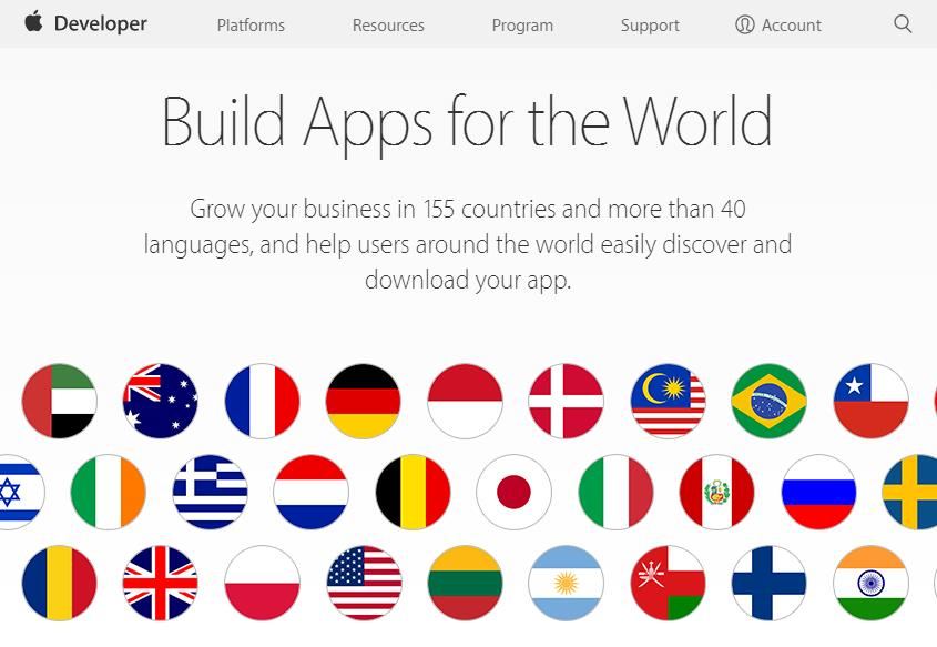 build apps for the world