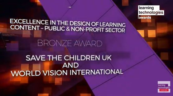 Save The Children e-Learning Award Learning Technologies
